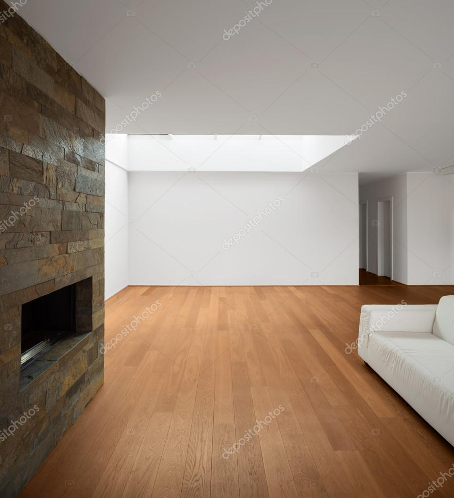 Empty Living Room: Modern Architecture, New Empty Apartment, Living Room