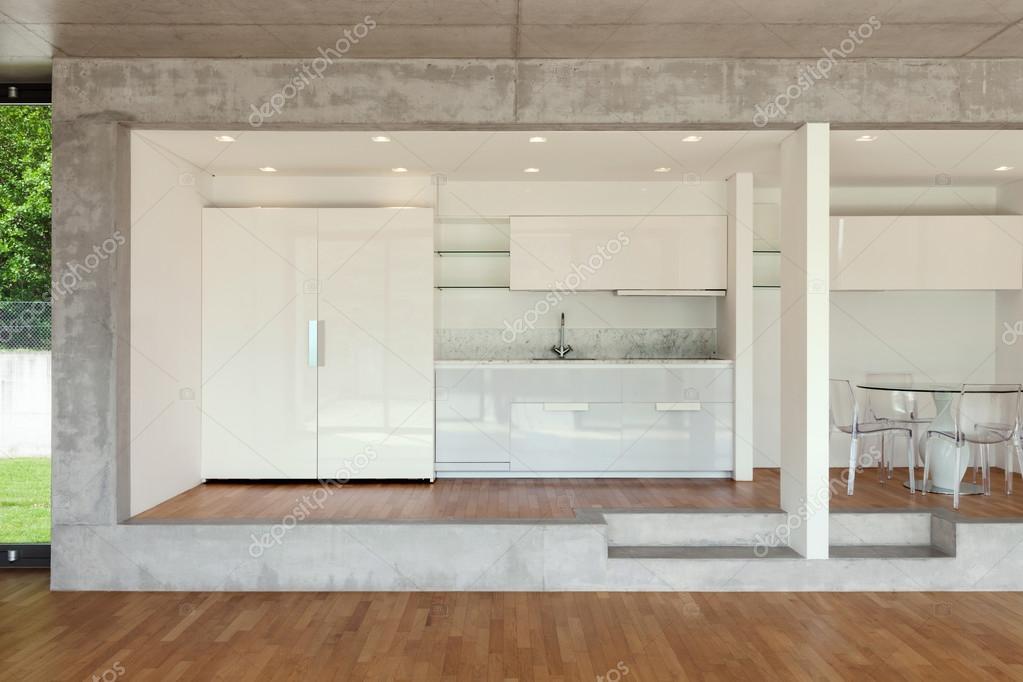 cocina de piso concreto — Fotos de Stock © Zveiger #110993286