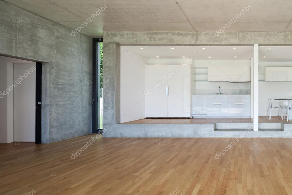 cocina de piso concreto — Foto de stock © Zveiger #110994154