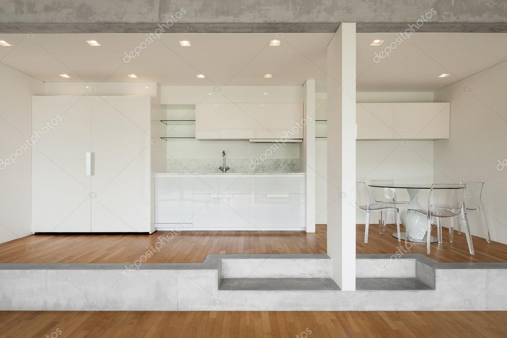 cocina de piso concreto — Foto de stock © Zveiger #110994522