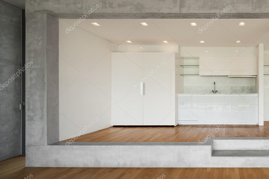 cocina de piso concreto — Fotos de Stock © Zveiger #110995092