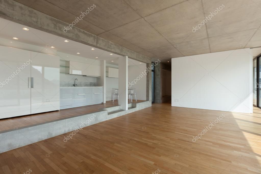 cocina de piso concreto — Foto de stock © Zveiger #110996666