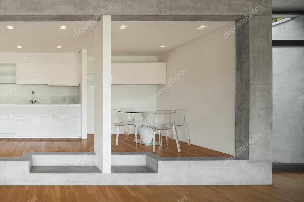 cocina de piso concreto — Foto de stock © Zveiger #110997074