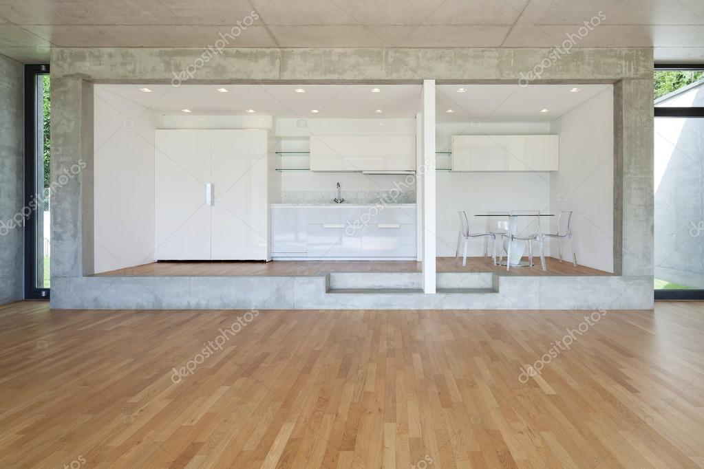 cocina de piso concreto — Foto de stock © Zveiger #110997110