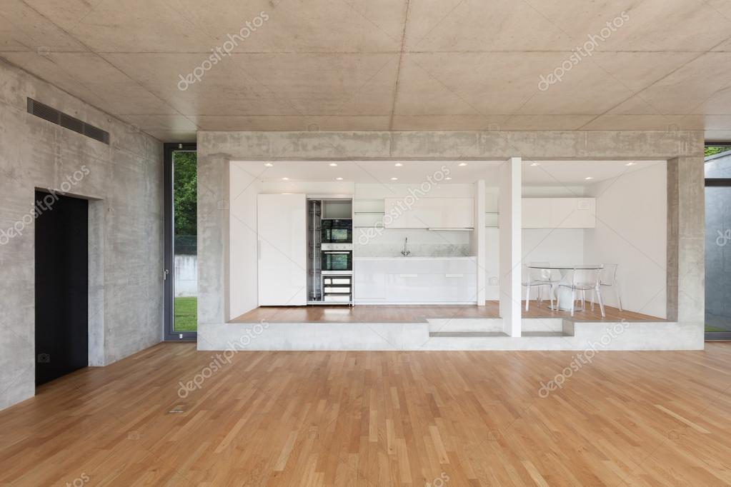 cocina de piso concreto — Fotos de Stock © Zveiger #110998018