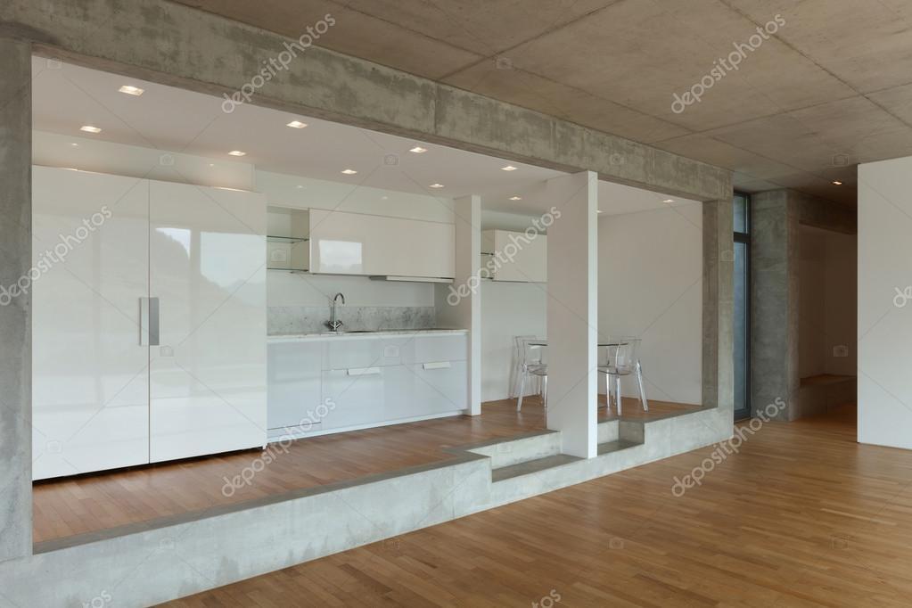cocina de piso concreto — Fotos de Stock © Zveiger #110999104