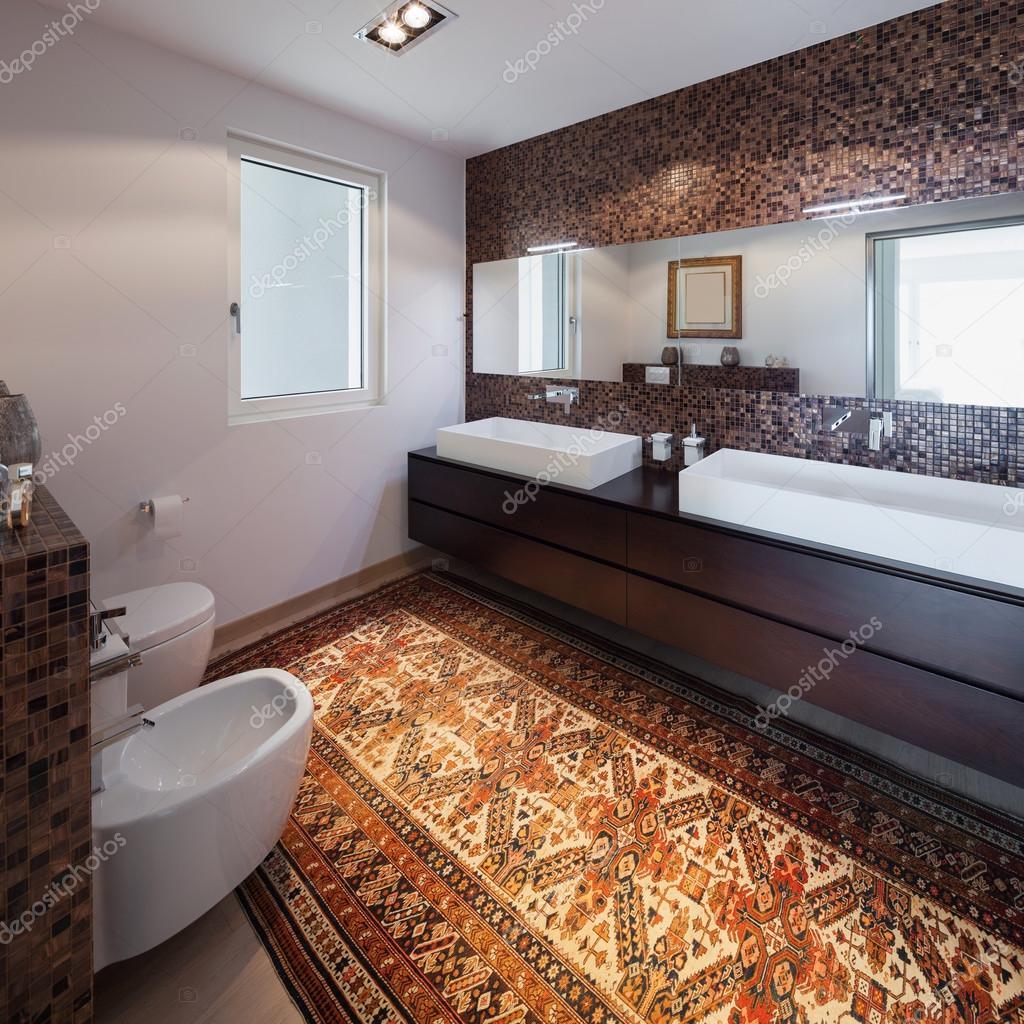 Einrichtung Der Neuen Wohnung, Bad U2014 Stockfoto