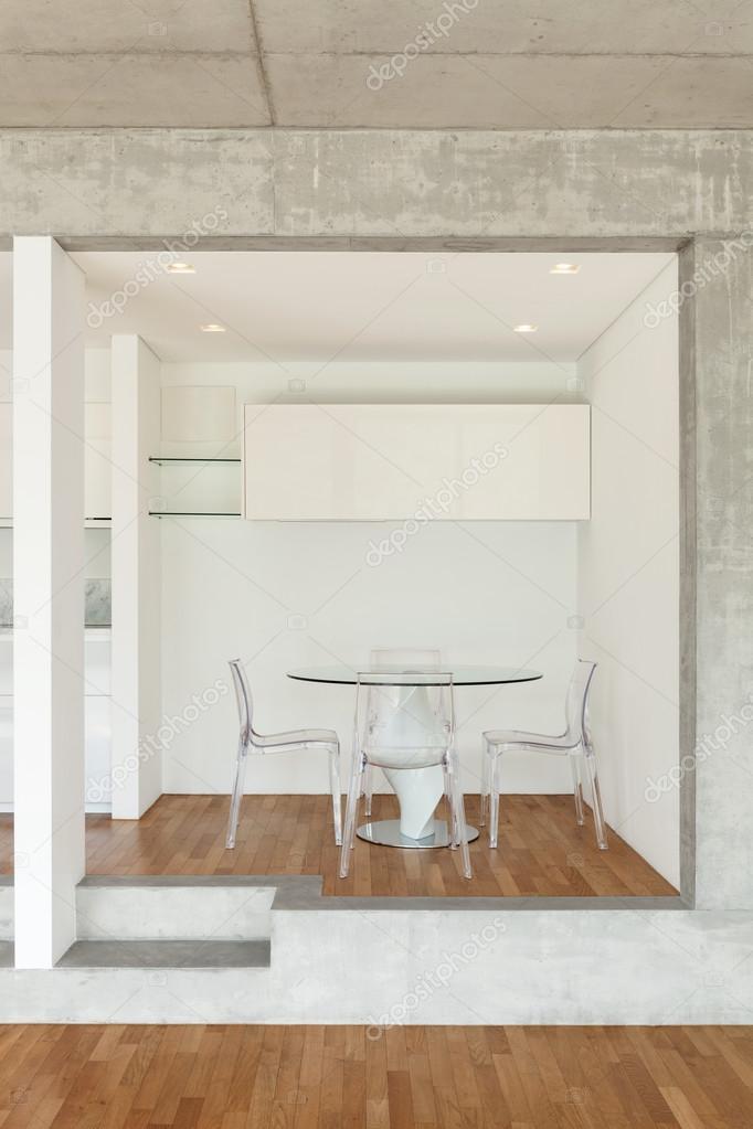 cocina de piso concreto — Foto de stock © Zveiger #110999420