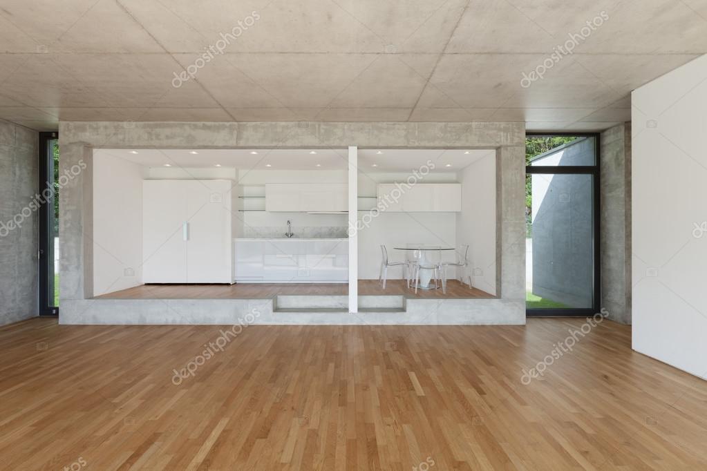 cocina de piso concreto — Foto de stock © Zveiger #111054830