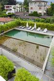 Fotografie Bazén Luxusní bytové domy