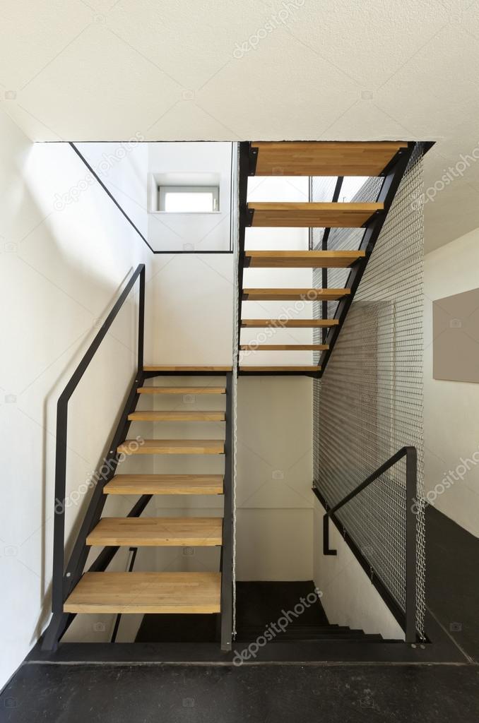 Interieur, moderne chalet — Stockfoto © Zveiger #124147296