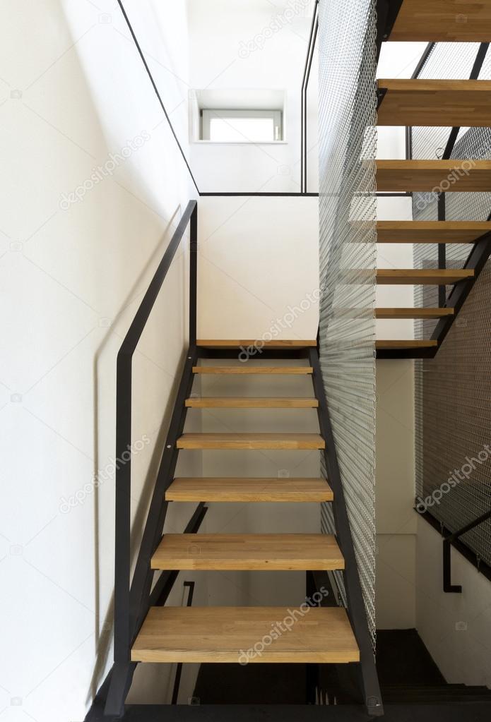 Interieur, moderne chalet — Stockfoto © Zveiger #124147336