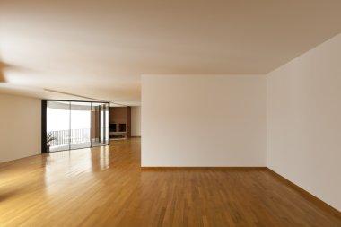 Interior, big empty room