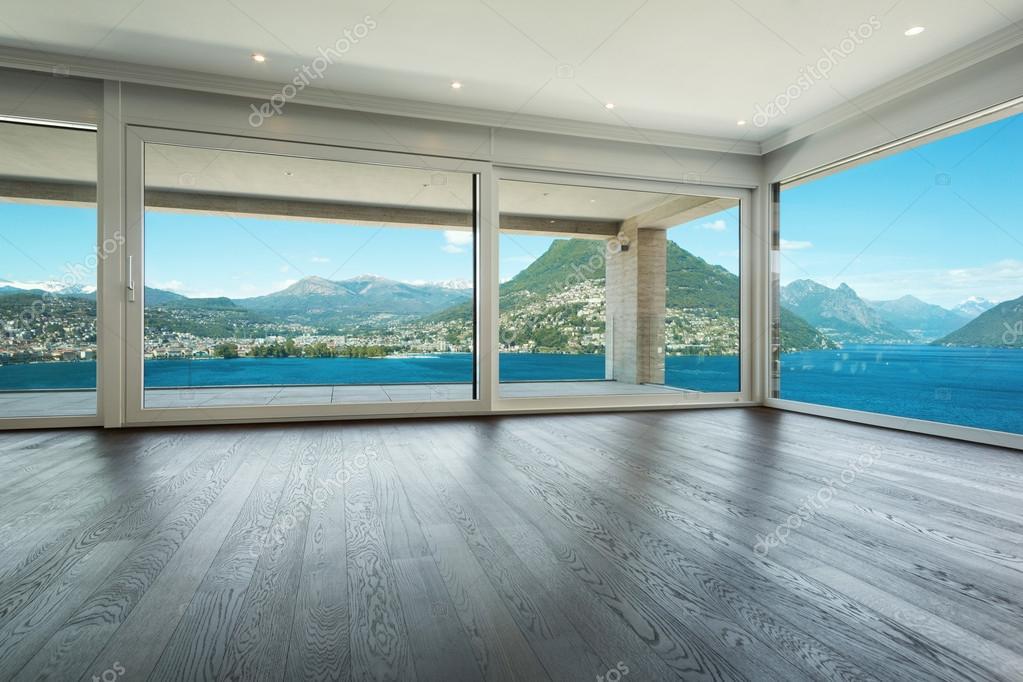Interior, beautiful modern house