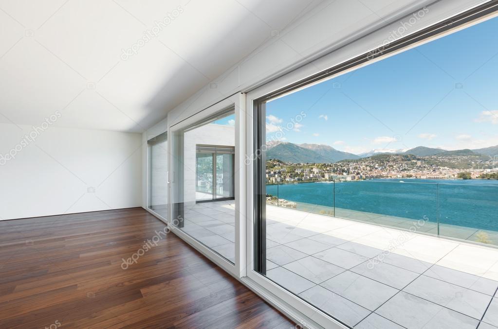 Beautiful penthouse, interior