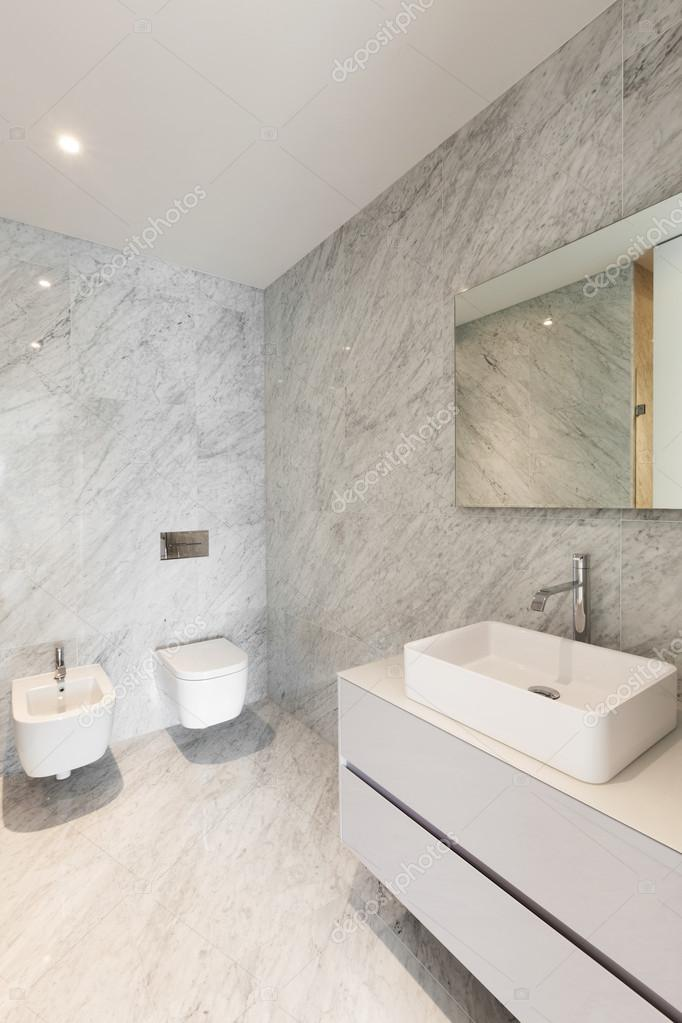 Prachtige badkamer marmer — Stockfoto © Zveiger #61693109