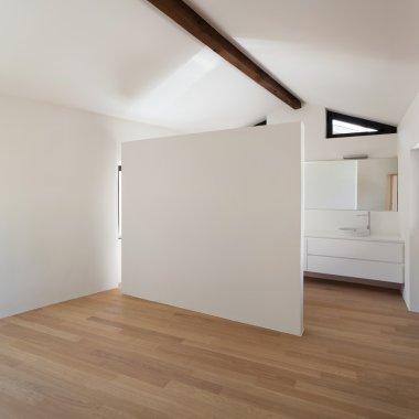 Empty house, interior