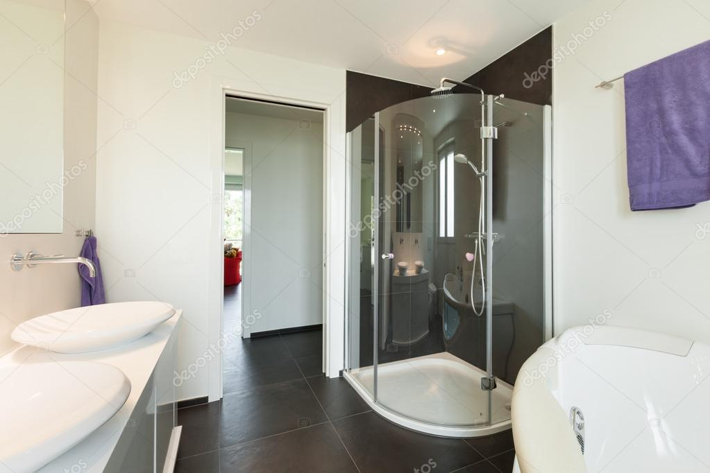 interior de la casa moderna, cuarto de baño — Fotos de Stock ...