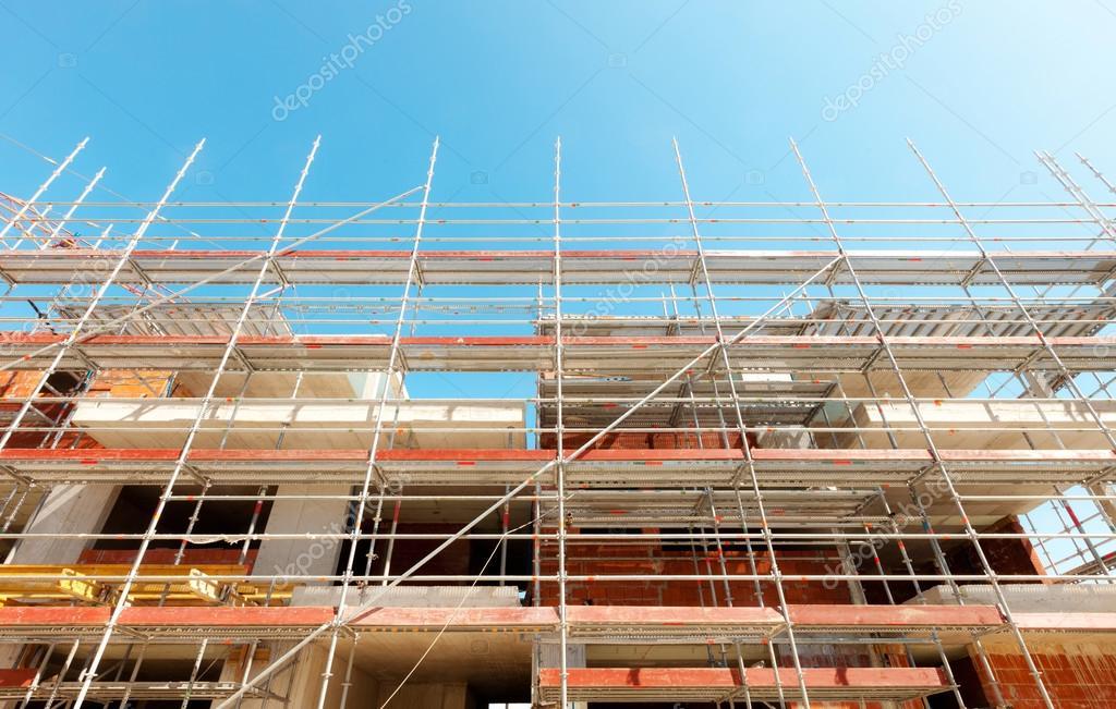 Building, construction site