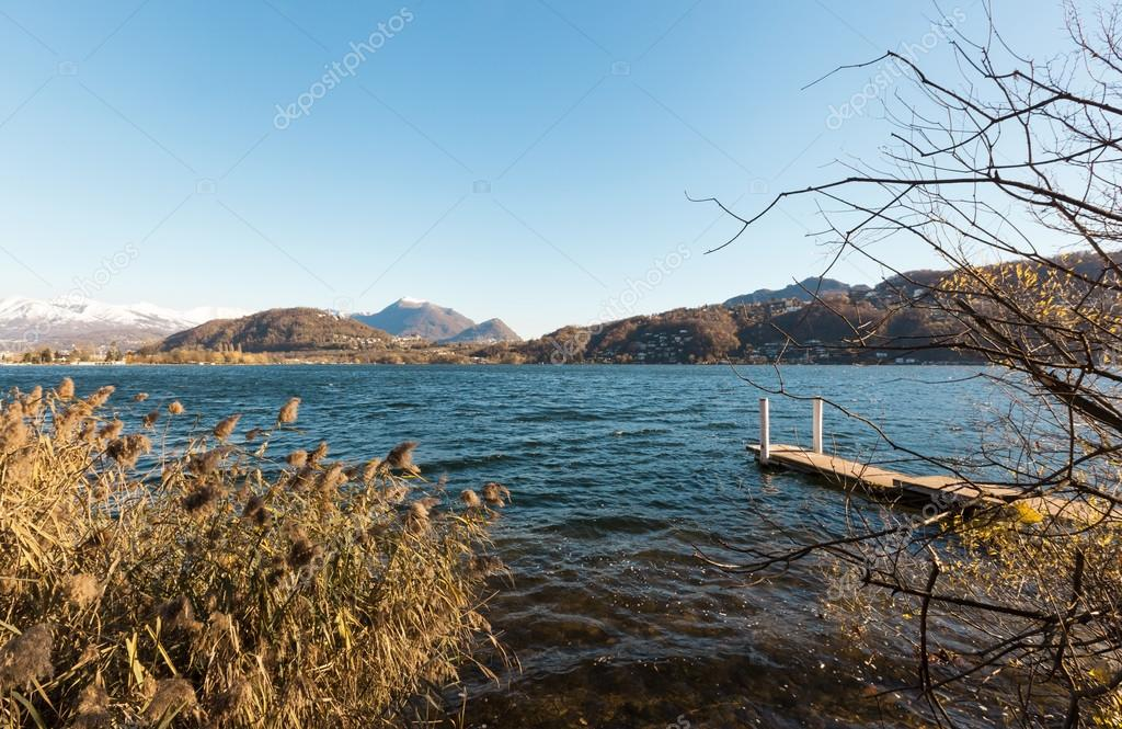 View of Lake Lugano