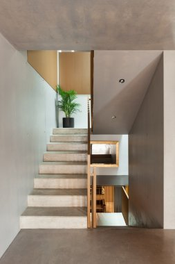 Interior, staircase