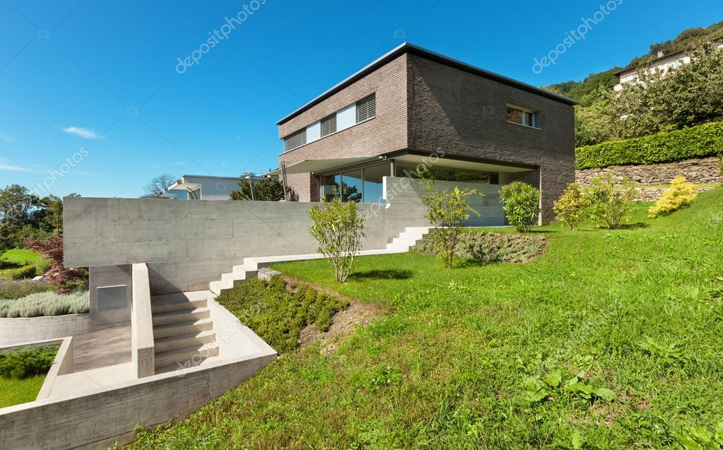 Architecture modern design, house