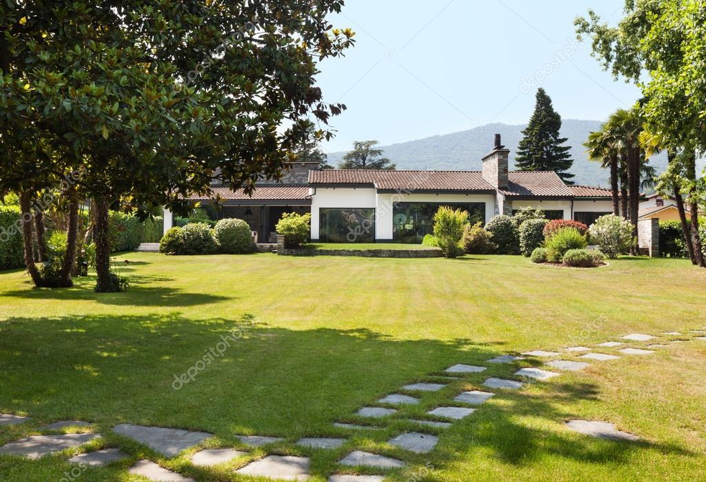 White villa exterior