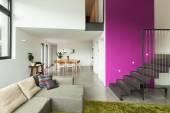 Fotografie Wohnung möbliert, Blick auf das Wohnzimmer