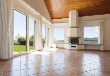 Interior empty livingroom