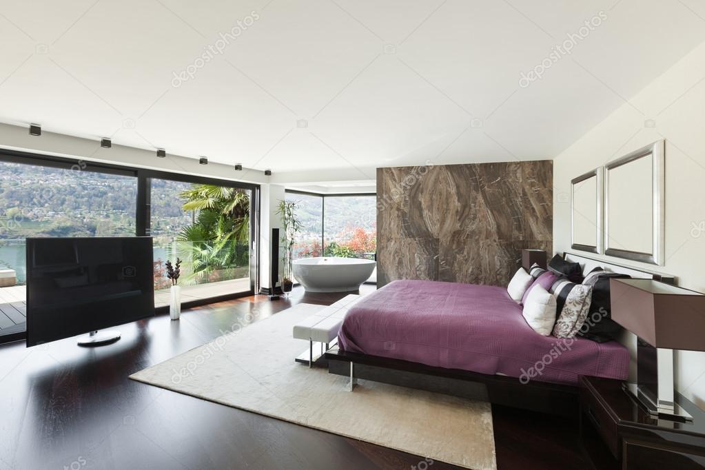 interieurs, luxe slaapkamers — Stockfoto © Zveiger #81162108