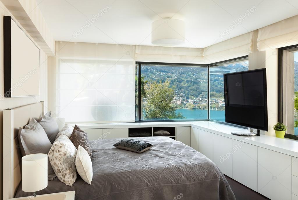 interieurs, luxe slaapkamers — Stockfoto © Zveiger #81163232