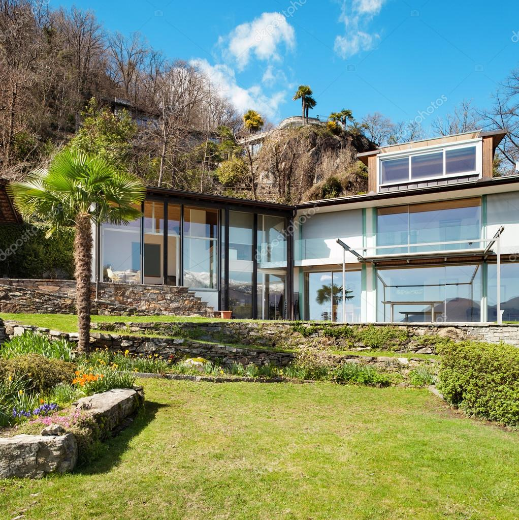 Mountain house, outdoors