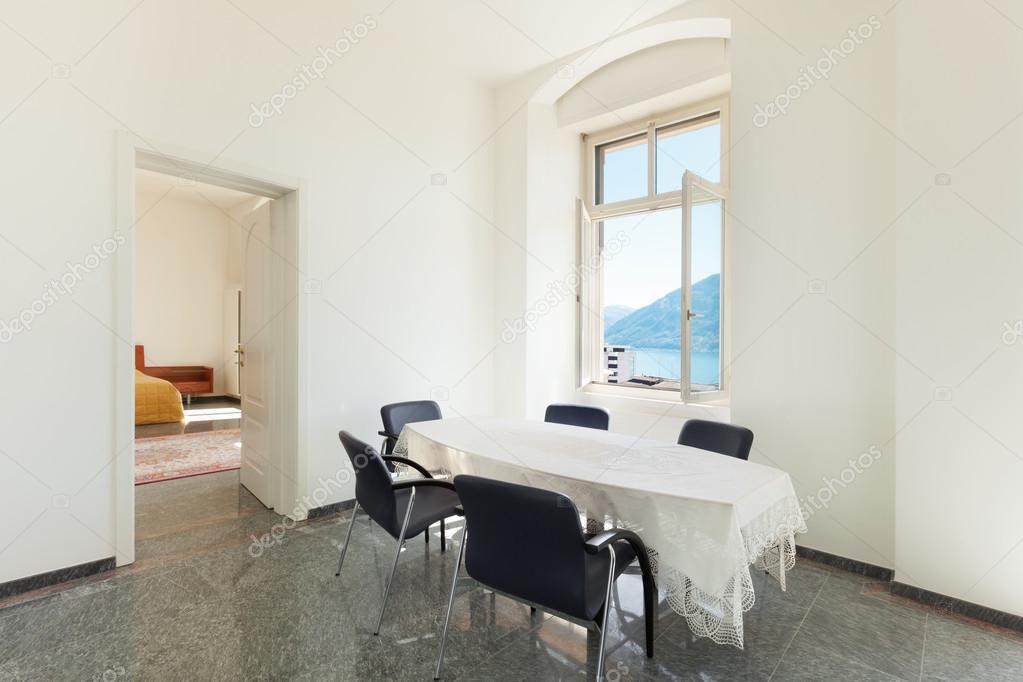 Interior, dining room