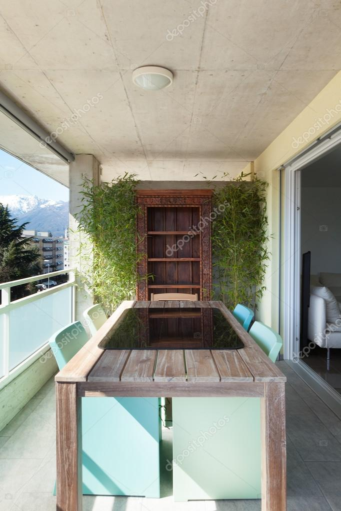 Balcony of an apartment