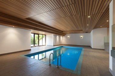 apartment, indoor swimming pool