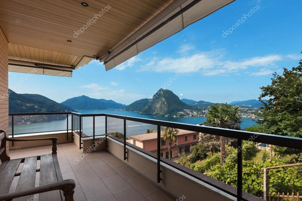 Lake Lugano view