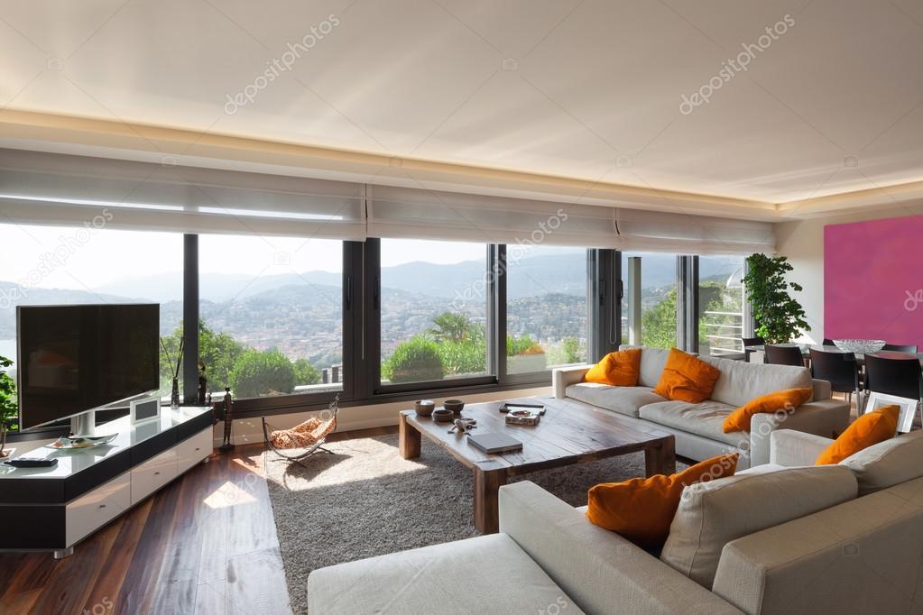 Interieur, mooie woonkamer — Stockfoto © Zveiger #88761140