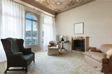 Interior, comfortable living room