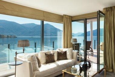 Interiors, beautiful living room