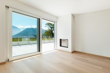 Interiors, modern house