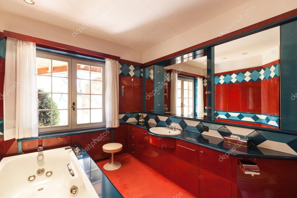 Interior, domestic bathroom