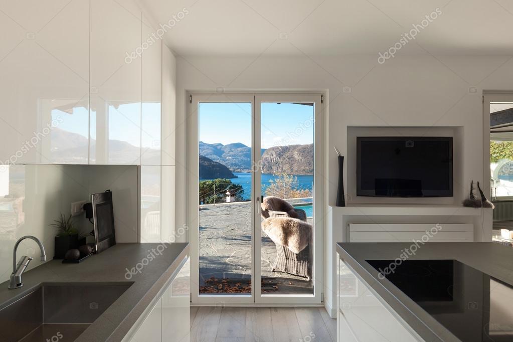 Nice modern kitchen stock photo zveiger 99499660 for Nice modern kitchens