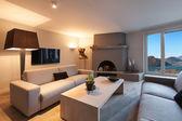Interiér, komfortní obývací pokoj