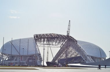 Olympic stadium Fisht in Sochi, Russia for opening and closing ceremonies of Winter Olympic Games 2014