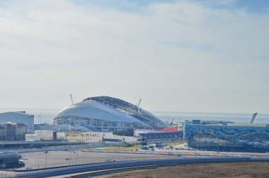 Olympic stadium Fisht  for opening and closing ceremonies of Winter Olympic Games 2014