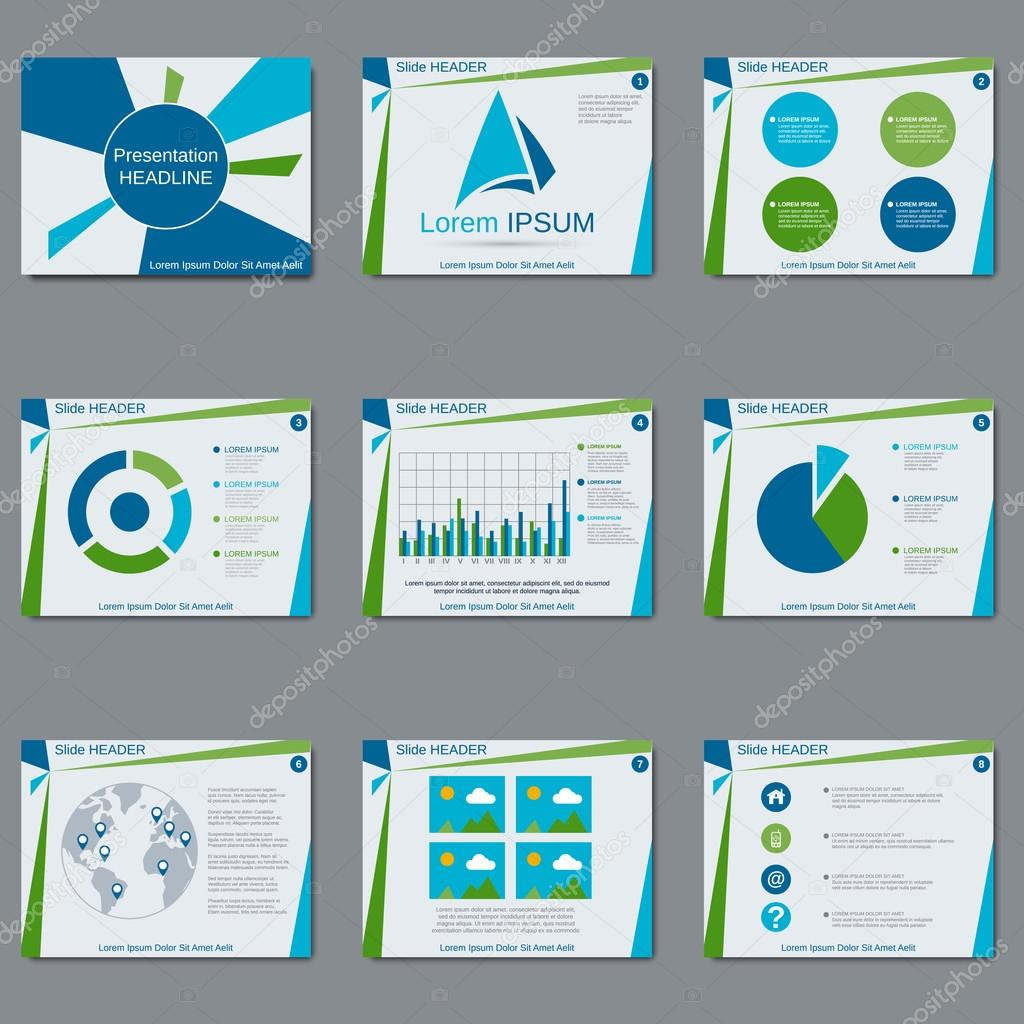 Design Presentation Template Vector