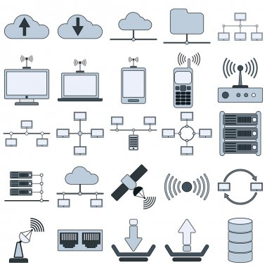 Network icon collection