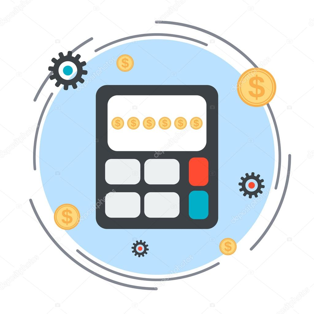 budget calculation financial statistics profit counting vector