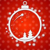 Vánoce a nový rok vektorové pozadí