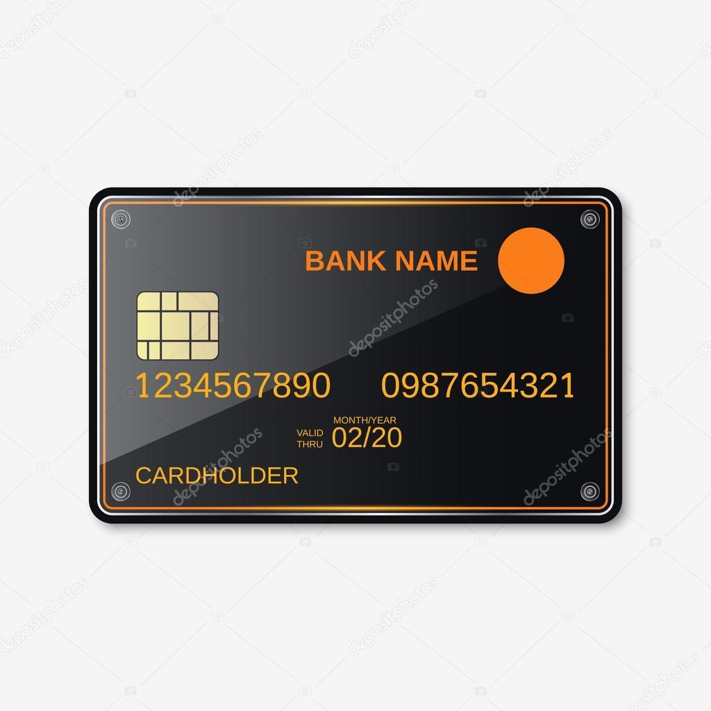Bank-Karte, Kreditkarte, Rabatt-Karte — Stockvektor © Ulvur #94990264